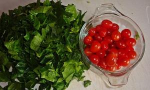 lentilsspinachandtomatoes
