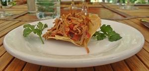 puertecita pork taco