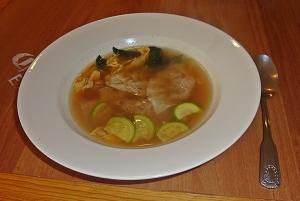 cafe california wonton soup