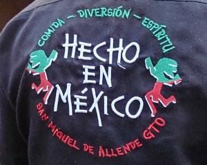 hecho en mexico shirt logo