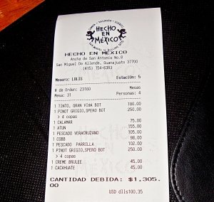 hecho en mexico the bill