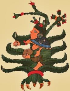 pulque god art