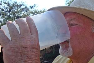 pulque jack with jug