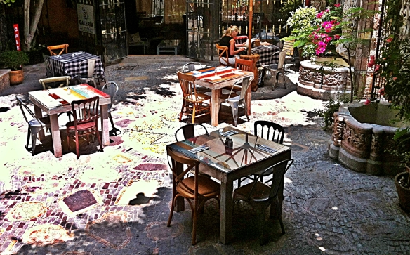 paprika courtyard