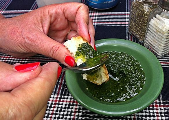 paprika olive oil dip