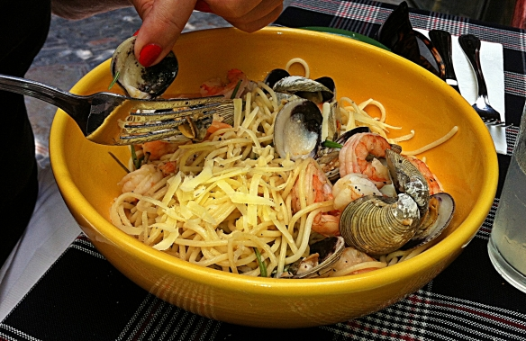 paprika seafood pasta