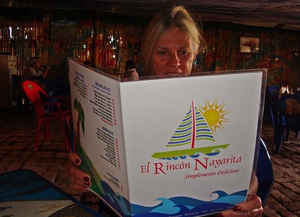 el rincon menu