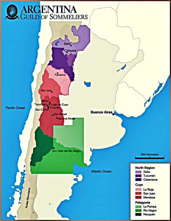 cab argentina wine map