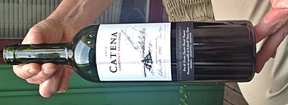 cab catena bottle