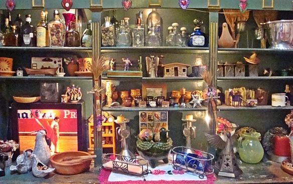la alborado apothecary shelves