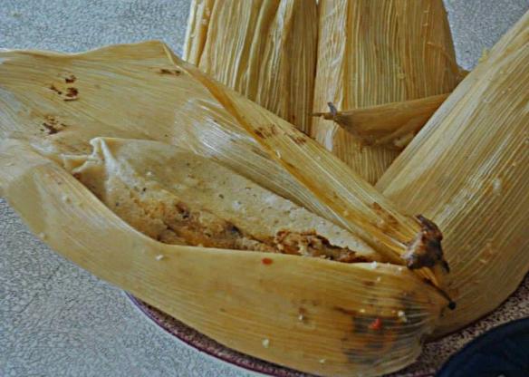 la bonita tamales stock shot