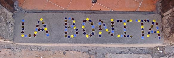 la bonita tiles at entrance