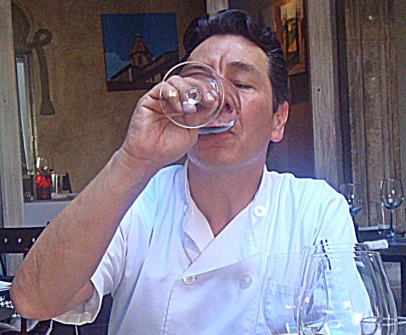firenze syrah antonio drinking