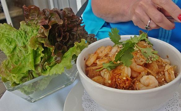 food factory lettuce wraps shrimp