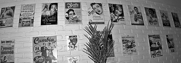 santos wall of posters