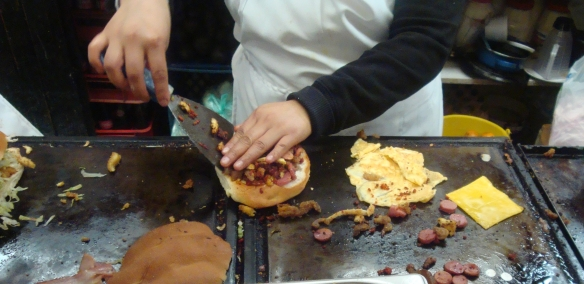torta cubana starting the pile up