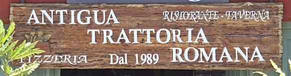 antigua sign